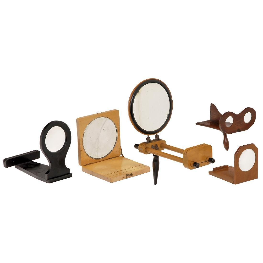 4 Assorted Graphoscopes, 1880-1900