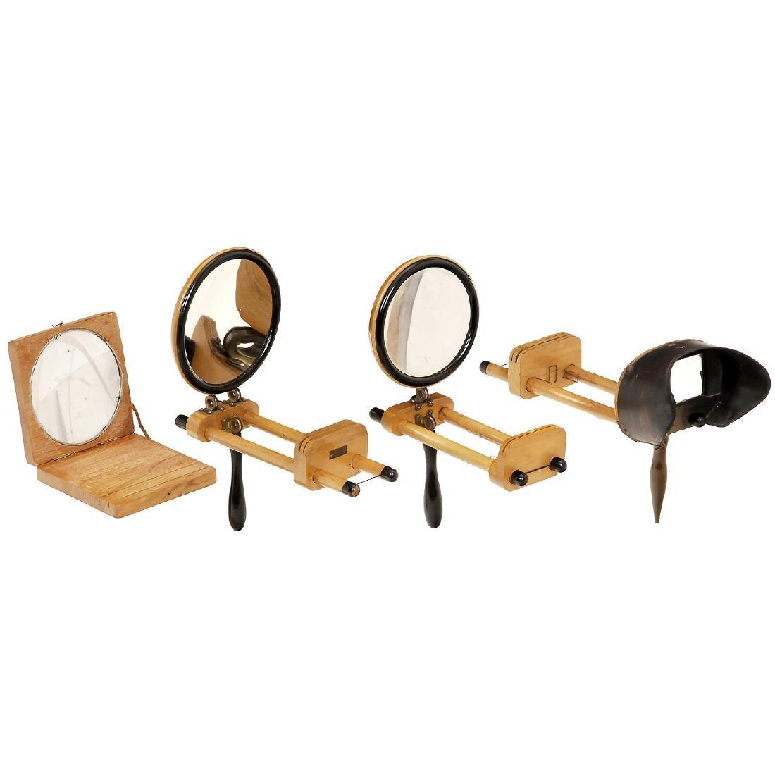 3 Assorted Graphoscopes, c. 1900