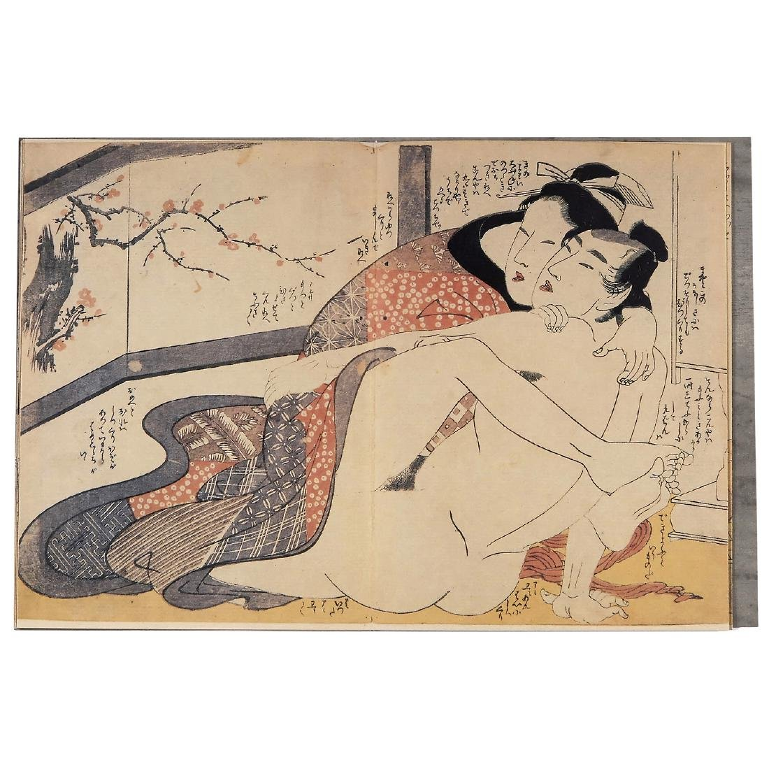 """Erotic Panoram """"Utamaro"""" - 3"""