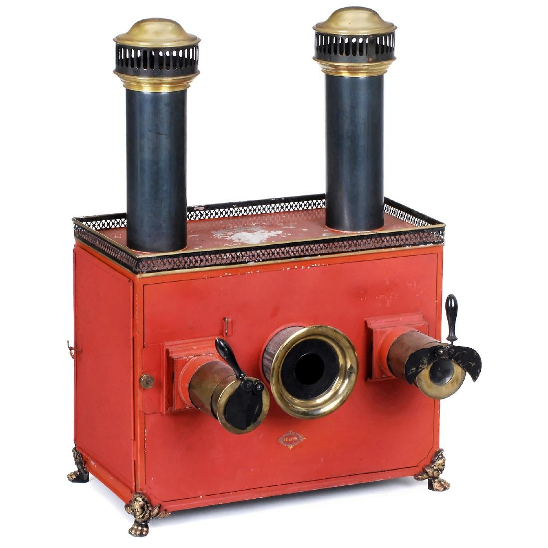 Megascope (Dissolving-View Lantern) by Carette, c. 1900