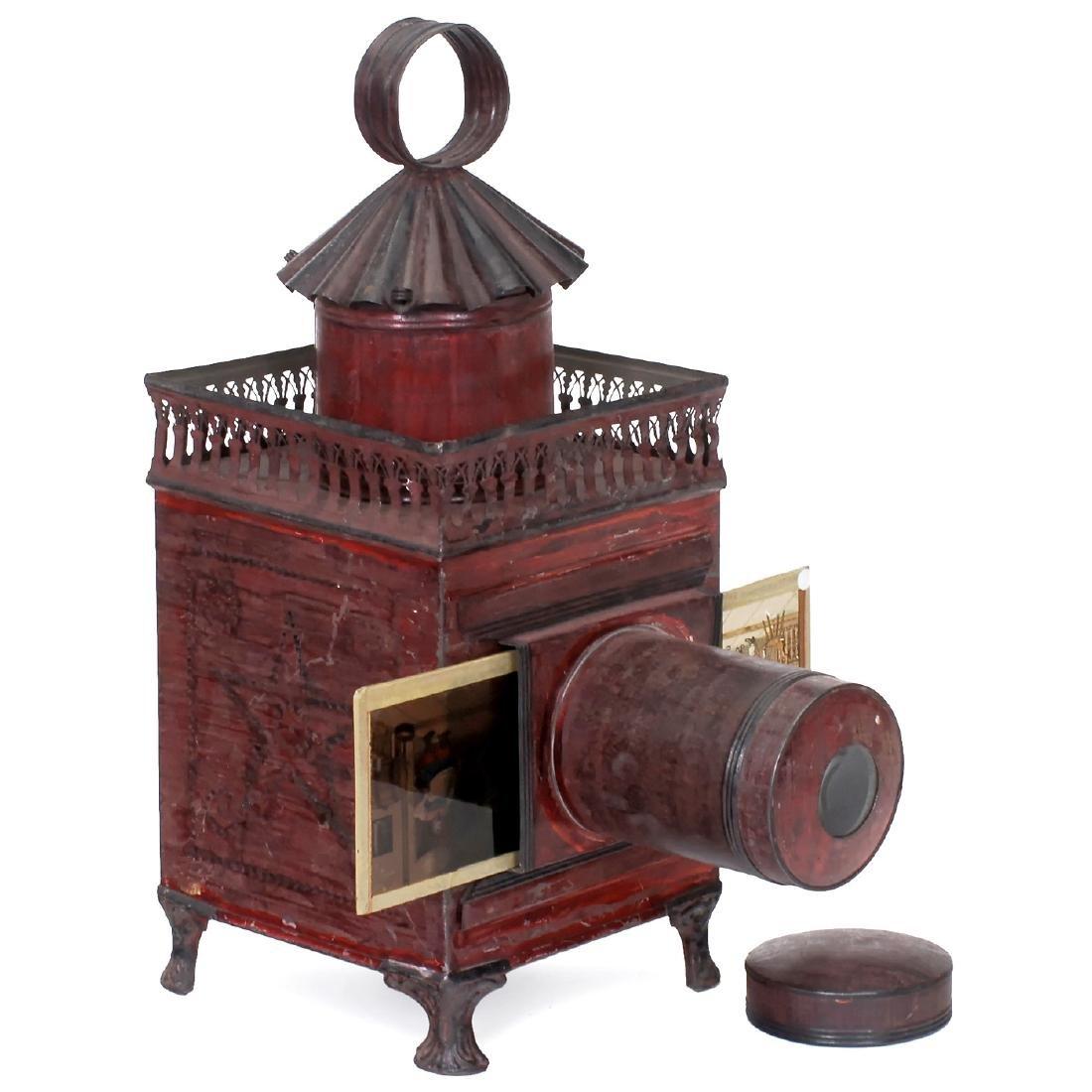 Carrée Magic Lantern by Lapierre, c. 1880
