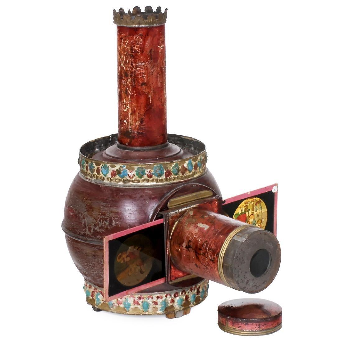 Lampascope Boule Magic Lantern, c. 1870