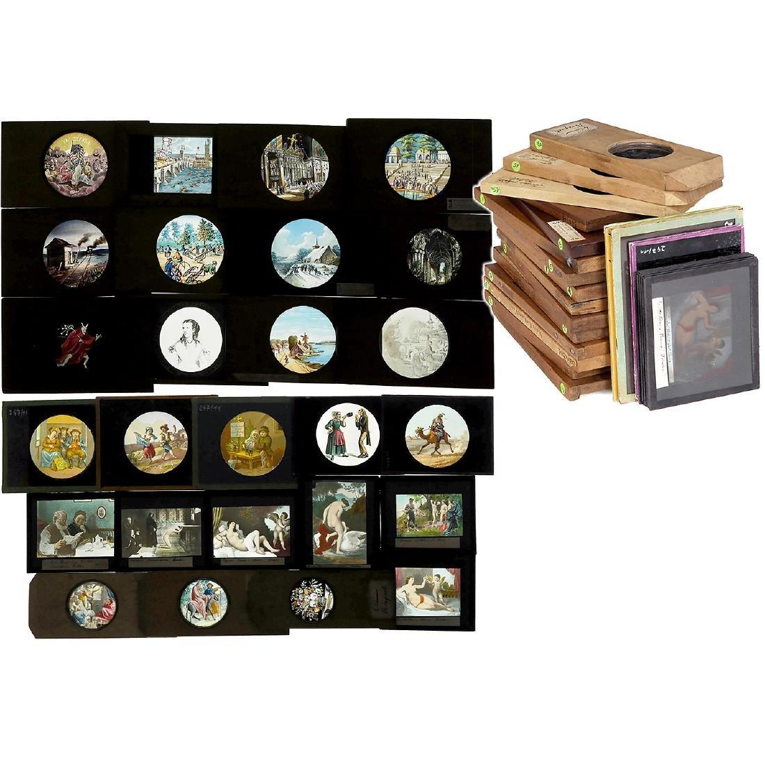 26 Magic Lantern Slides (Various Sizes)