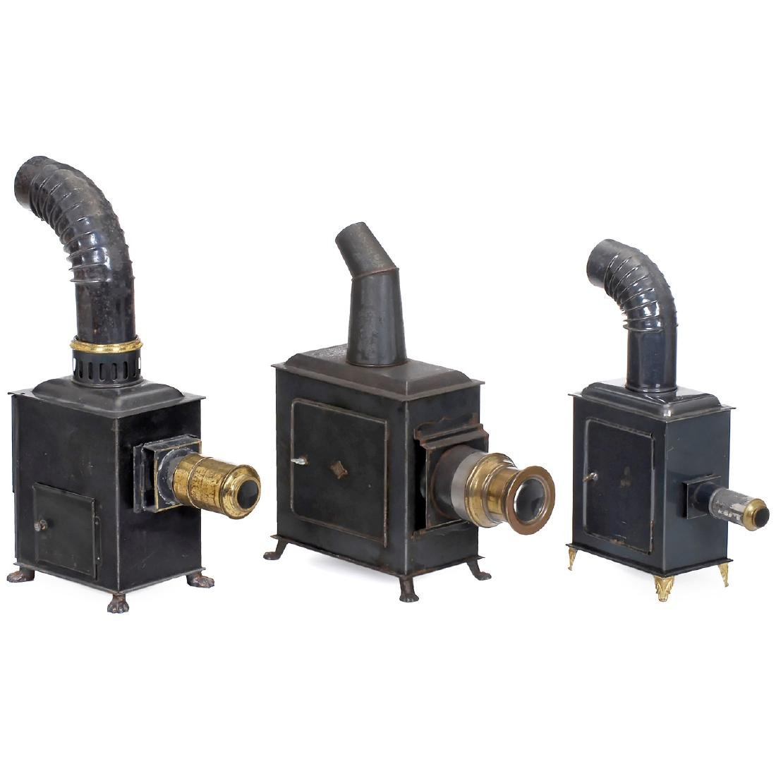 3 Magic Lanterns by Plank, Bing and Carette