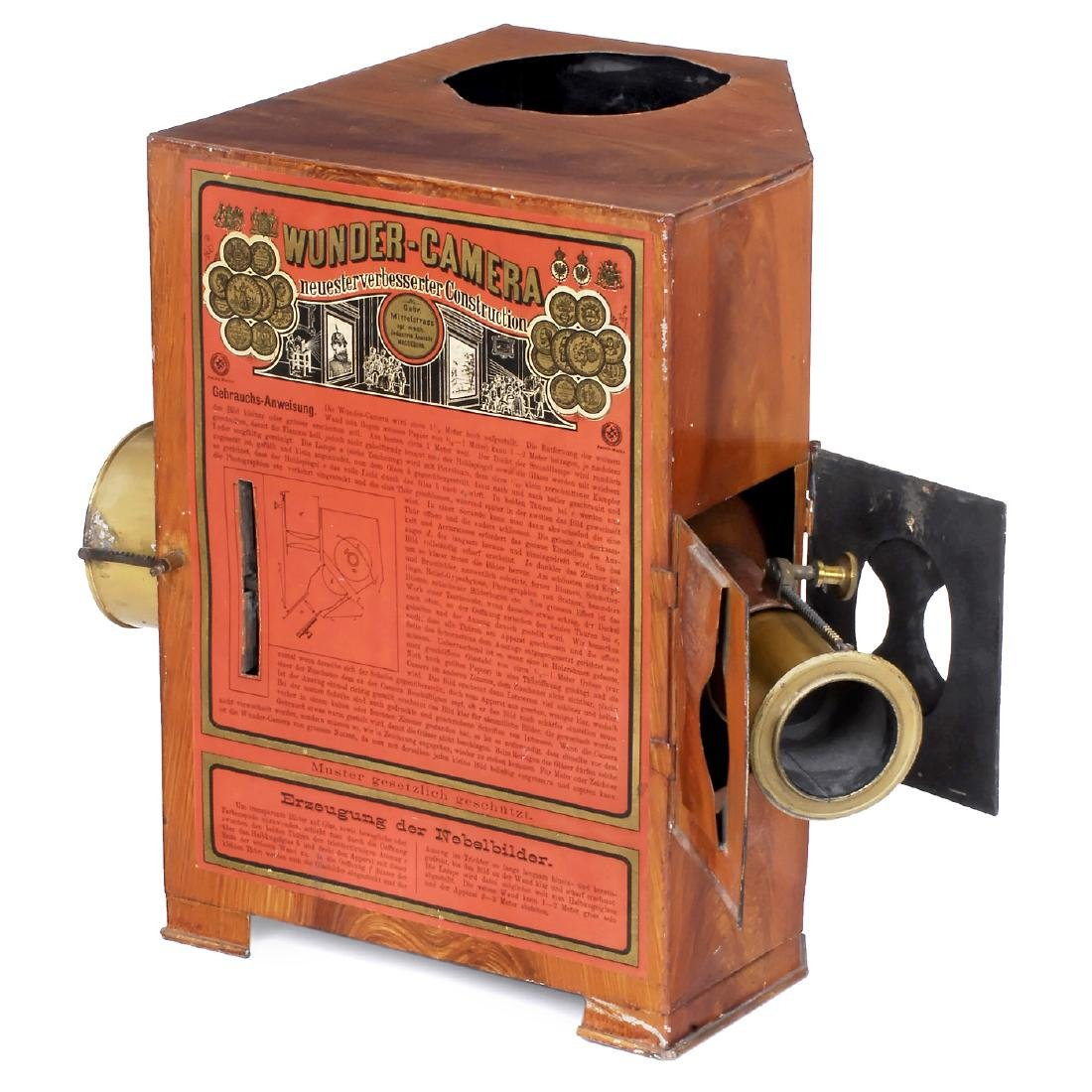 Wunder-Camera by Mittelstrass, c. 1890