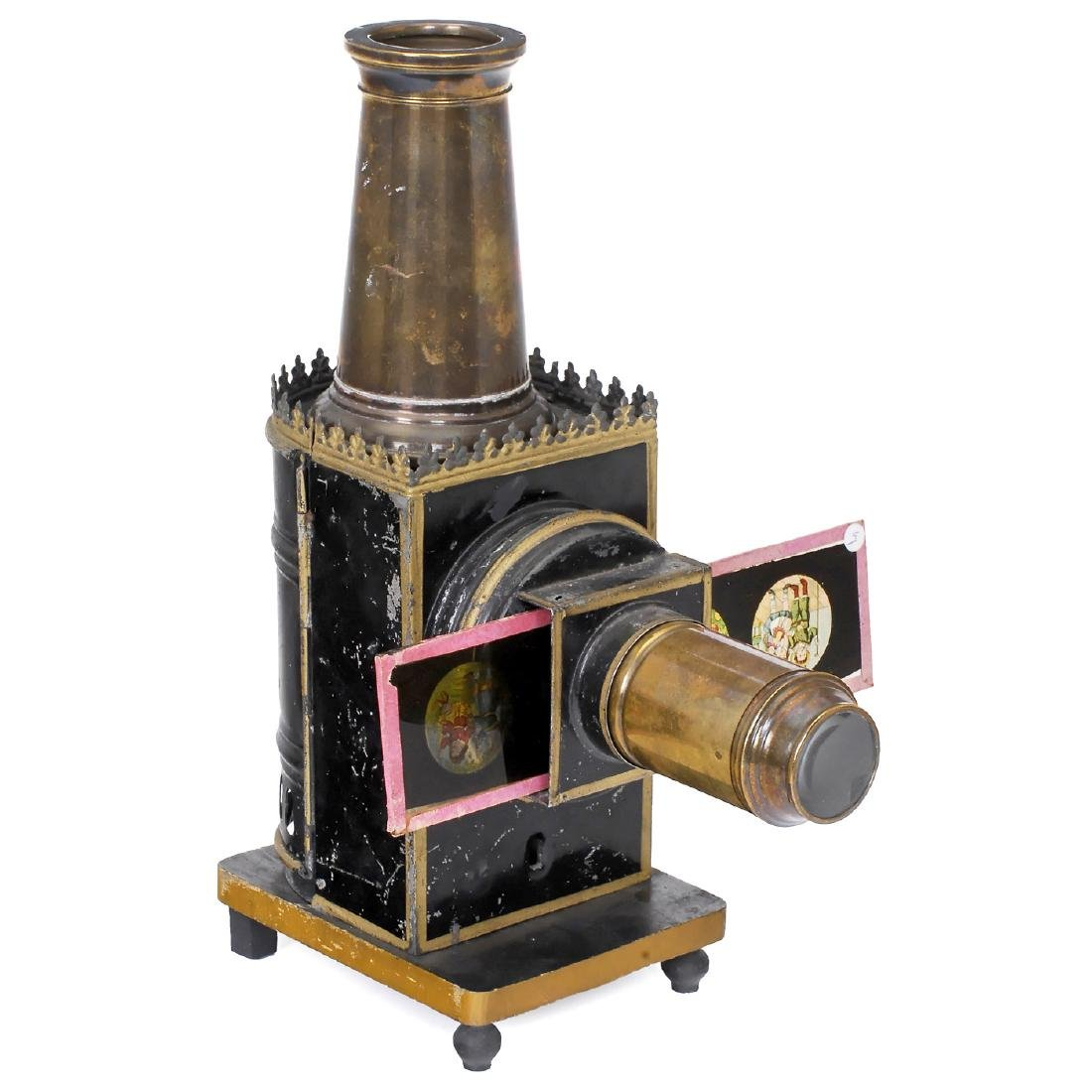 Typ 720 Magic Lantern by Plank, c. 1885