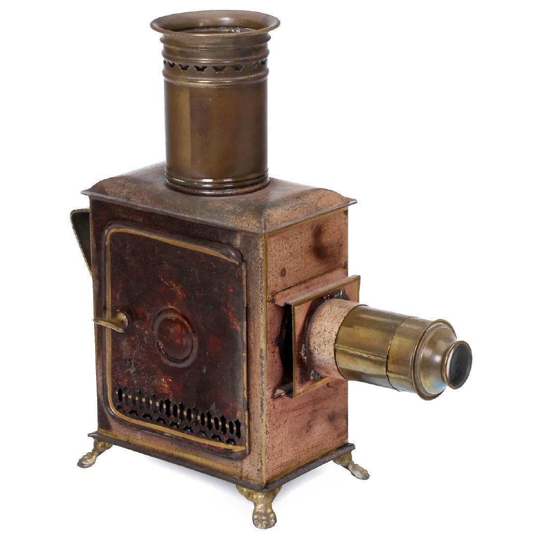 Rare Magic Lantern by Max Dannhorn, c. 1895