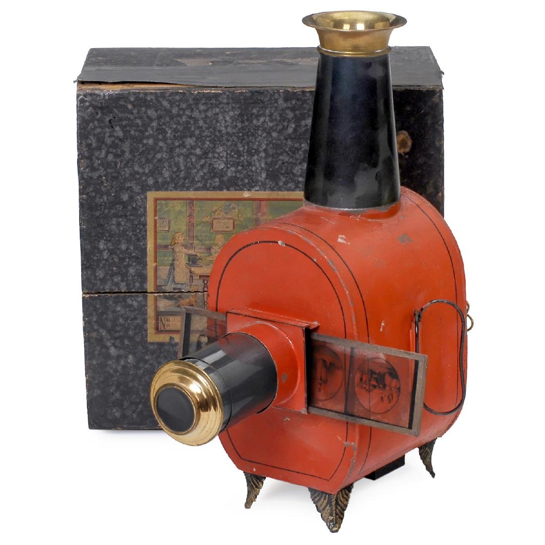 Handsome Nr. 290 Magic Lantern by Carette, 1890