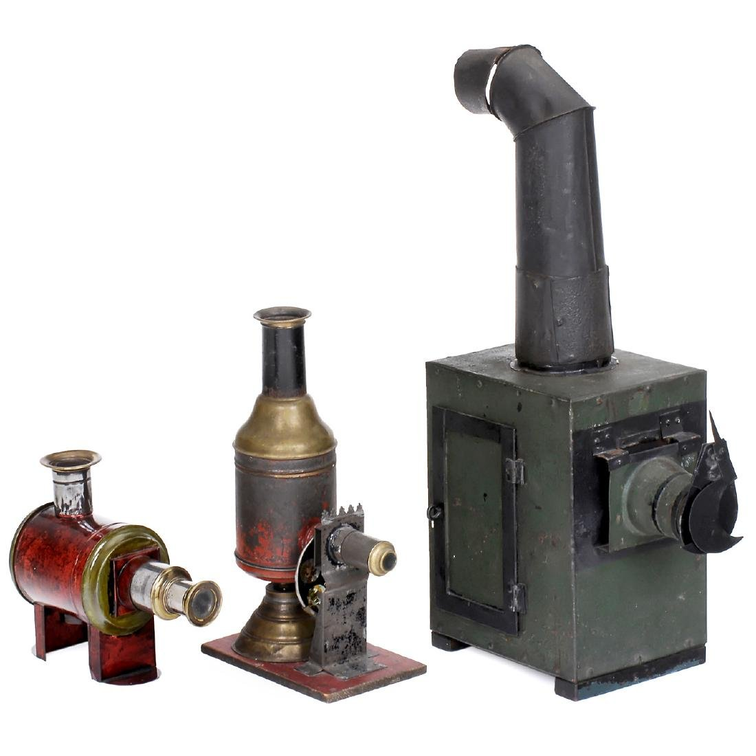 3 Assorted Magic Lanterns, c. 1870-90
