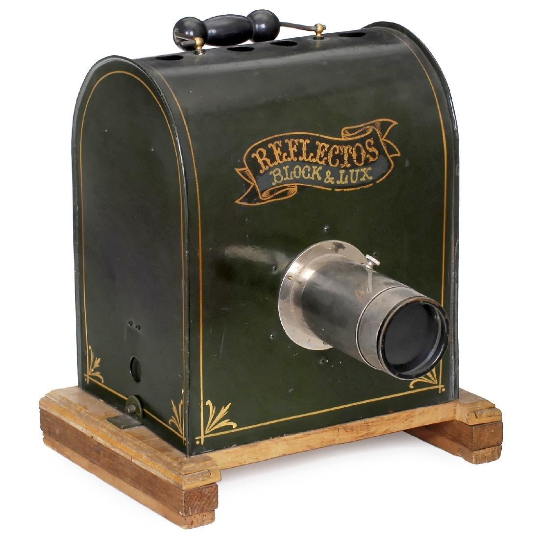 """Single Print Projector """"Reflectors"""", c. 1900"""