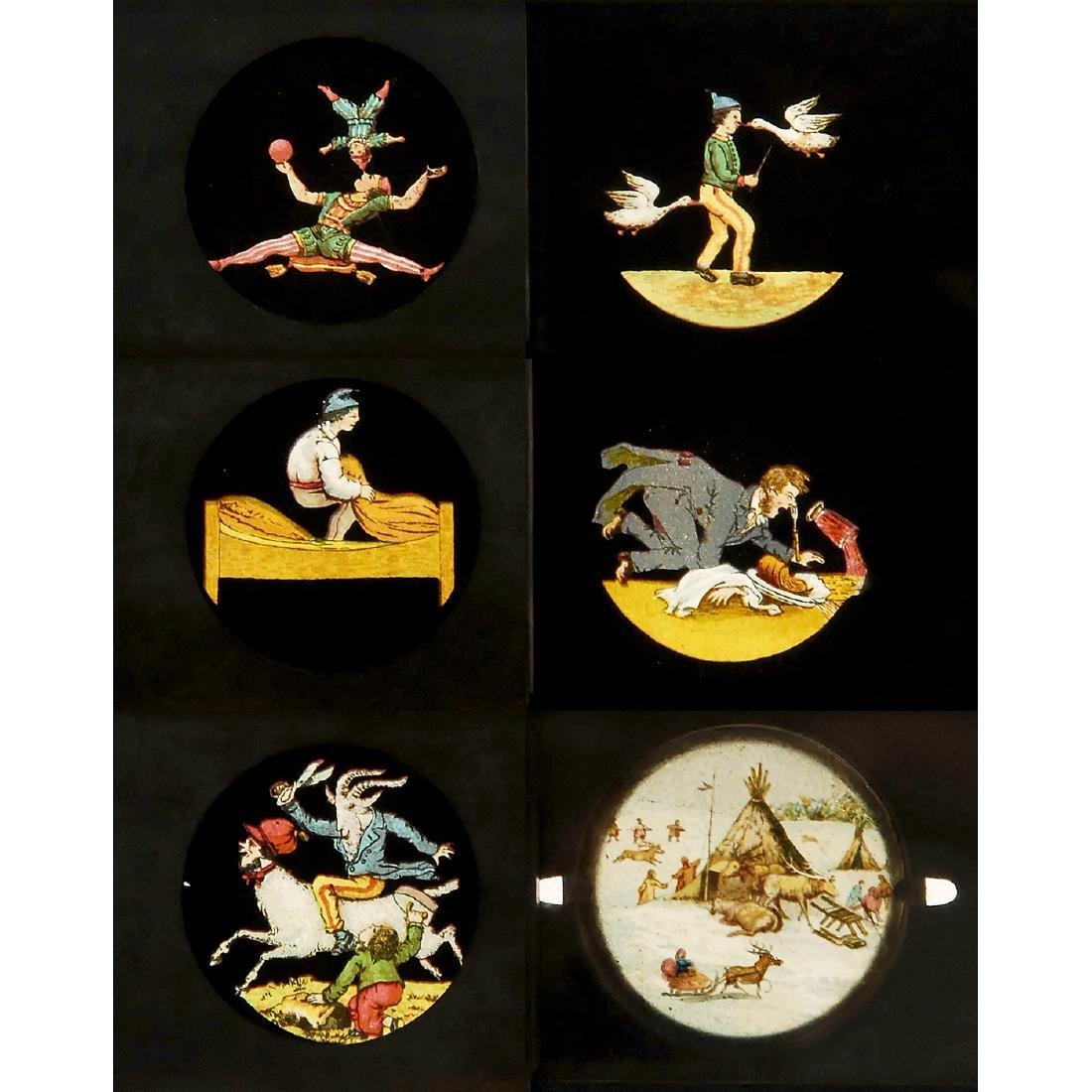 Lot of Magic Lantern Slides, c. 1880-1900 - 3