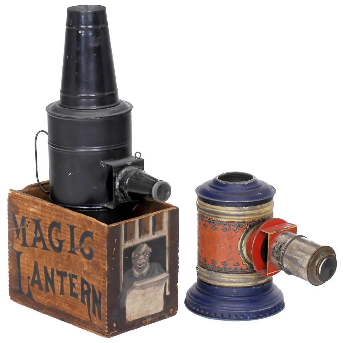 2 Magic Lanterns by Plank and Mason