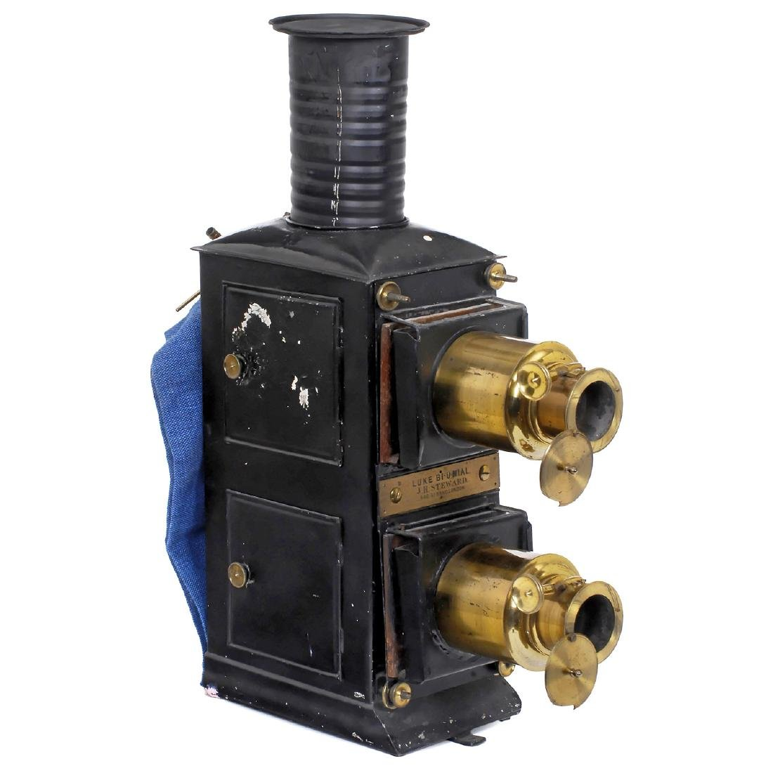 Luke Bi-Unial Magic Lantern, c. 1900