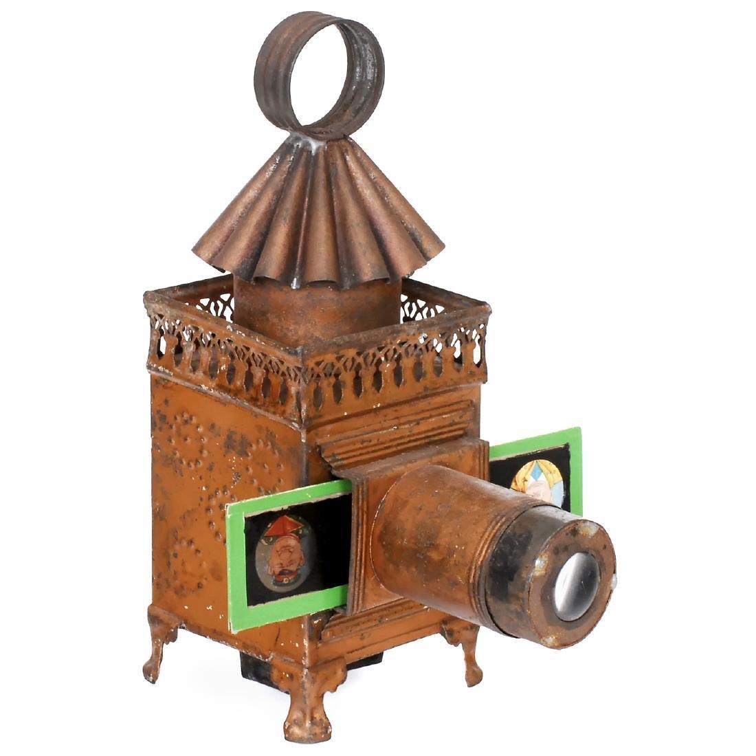 Carrée Magic Lantern by Lapierre, c. 1865-70