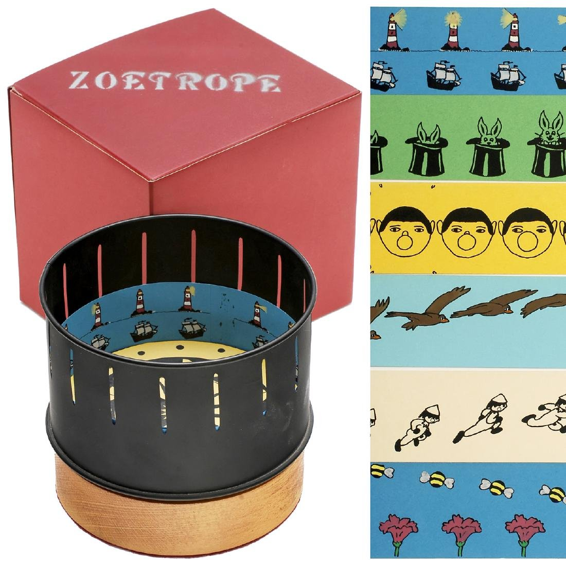 Small Zoetrope by Auckland, 1987