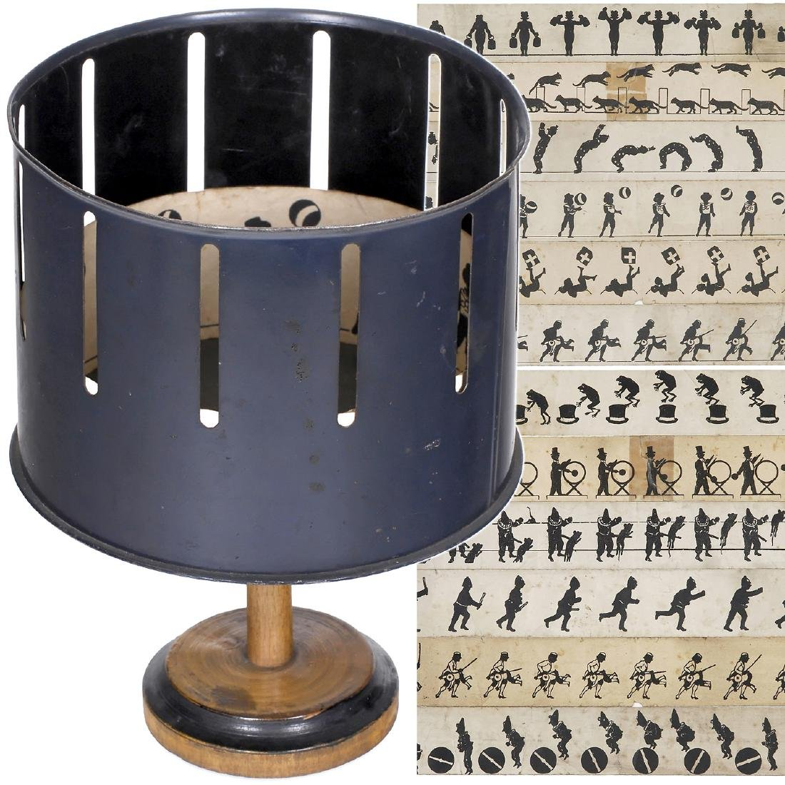 Miniature Zoetrope by Bing, c. 1900