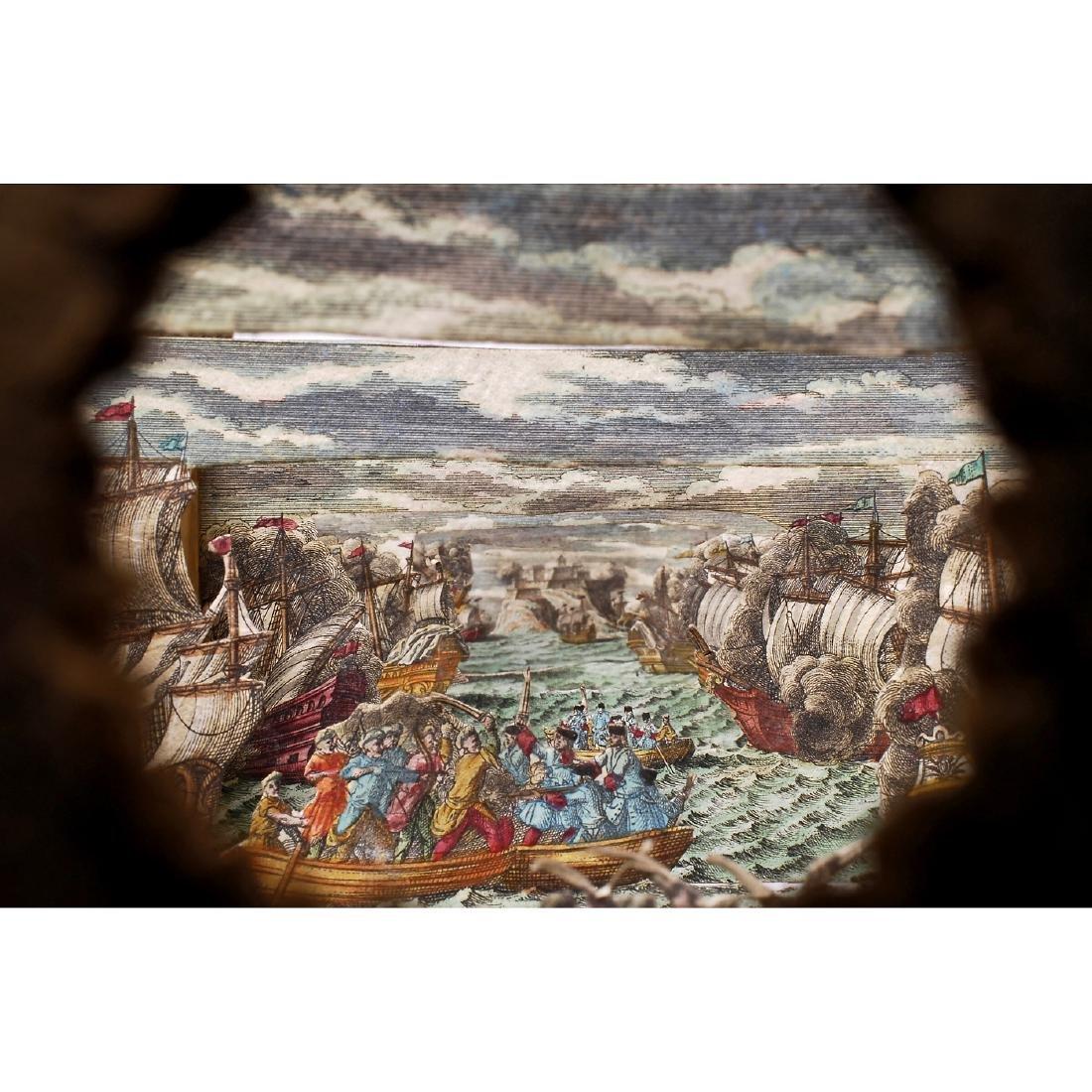 "Perspective Diorama ""Naval Battle"", c. 1860-70 - 3"