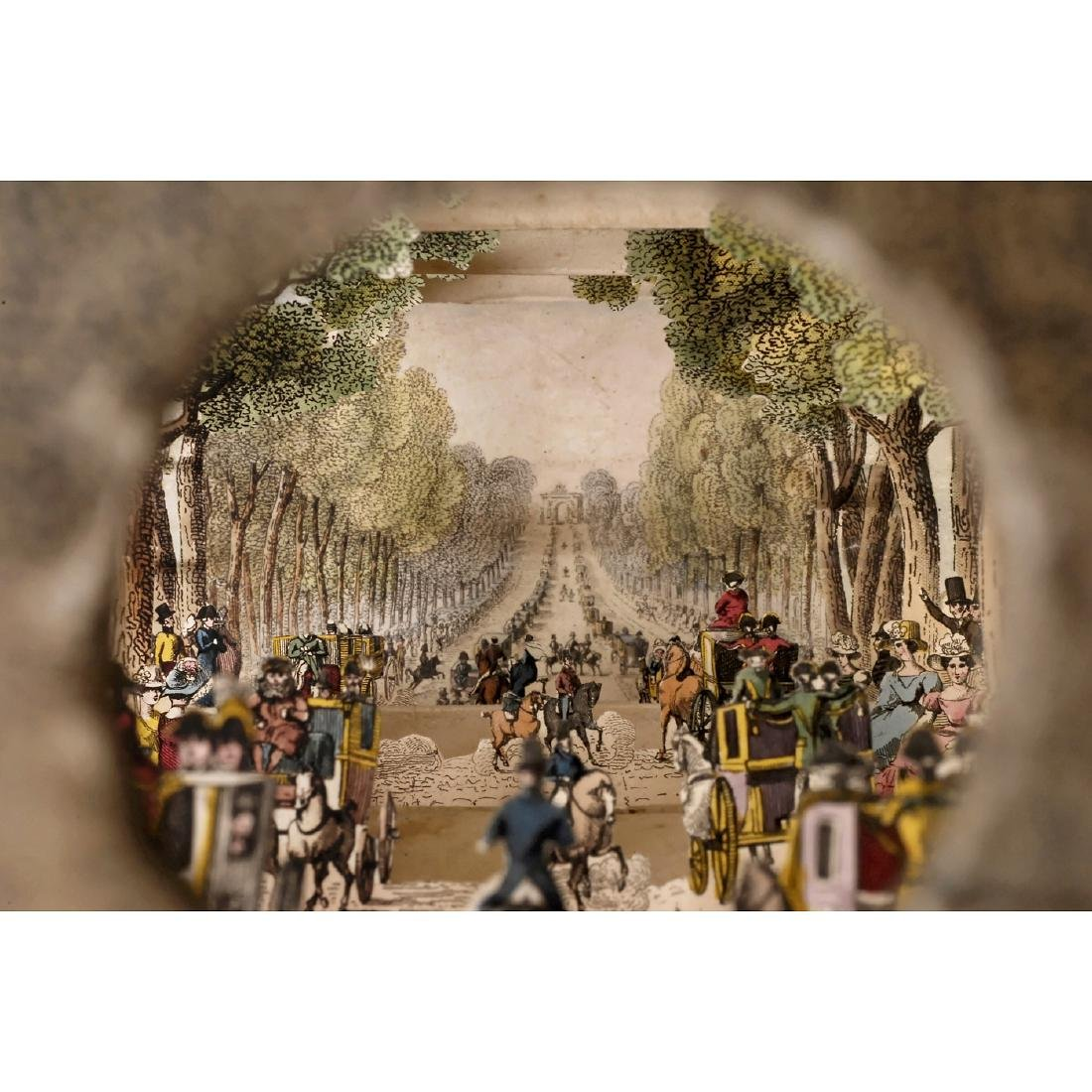 Perspective Diorama of Paris, c. 1850 - 3