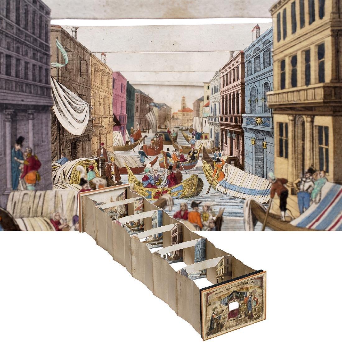"Perspective Diorama ""Canale Grande in Venice"", c. 1860"