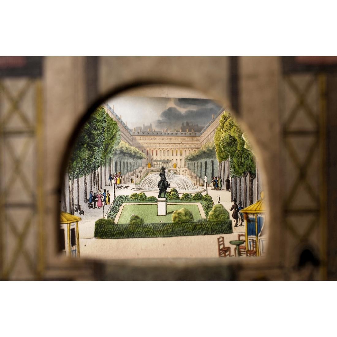 Perspective Diorama of Paris, c. 1820 - 3