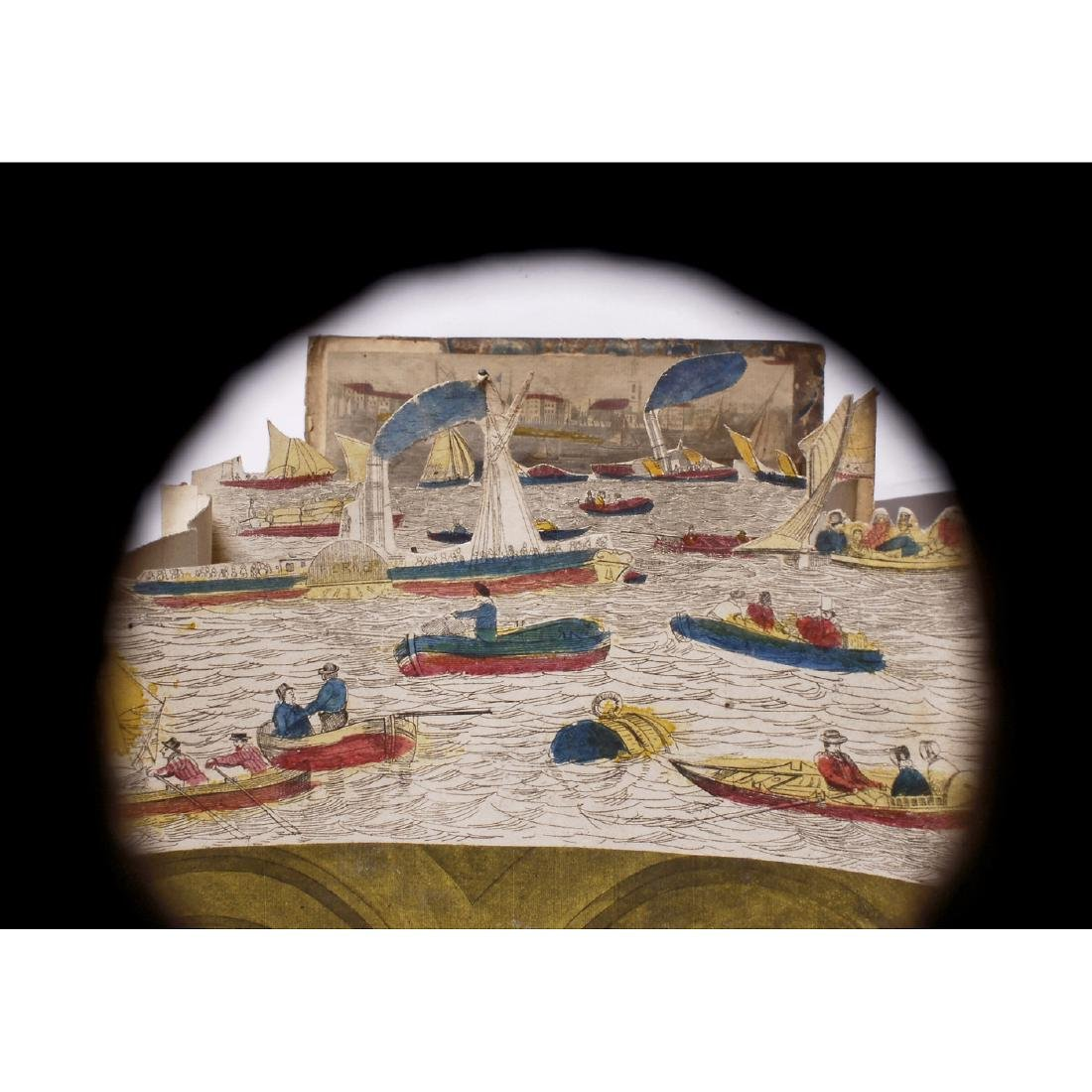 "Perspective Diorama ""History of the Thames Tunnel"", c. - 3"
