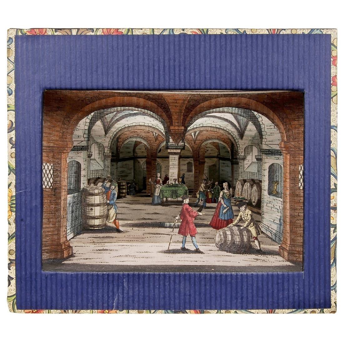 Perspective View Box Diorama, c. 1850 -70
