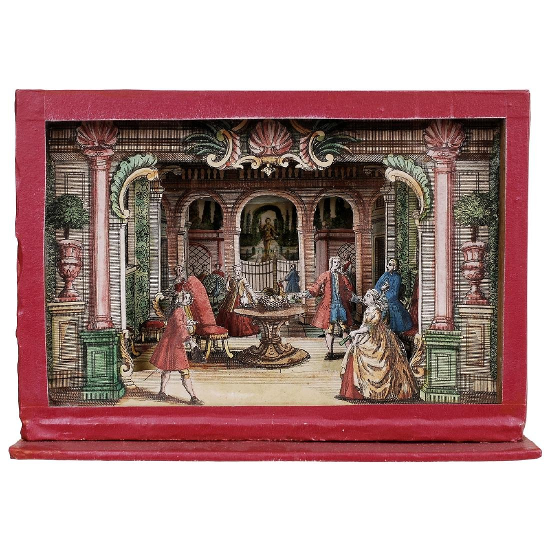 Perspective View Box Diorama, c. 1850-70