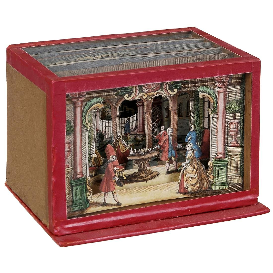 Perspective View Box Diorama, c. 1850-70 - 2