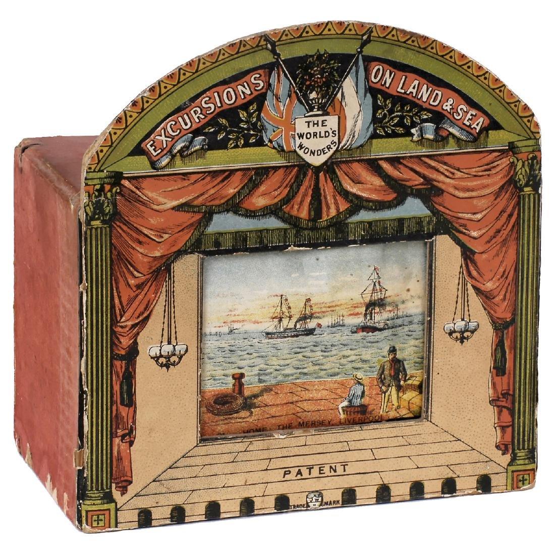 """Wheel Panoram """"The World's Wonders"""", c. 1890"""