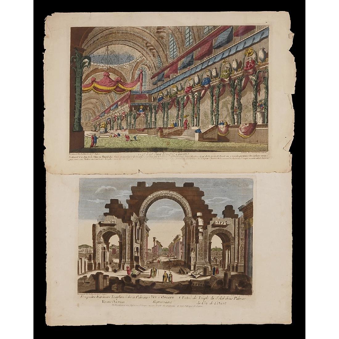4 Vues d'Optique, c. 1765 - 3