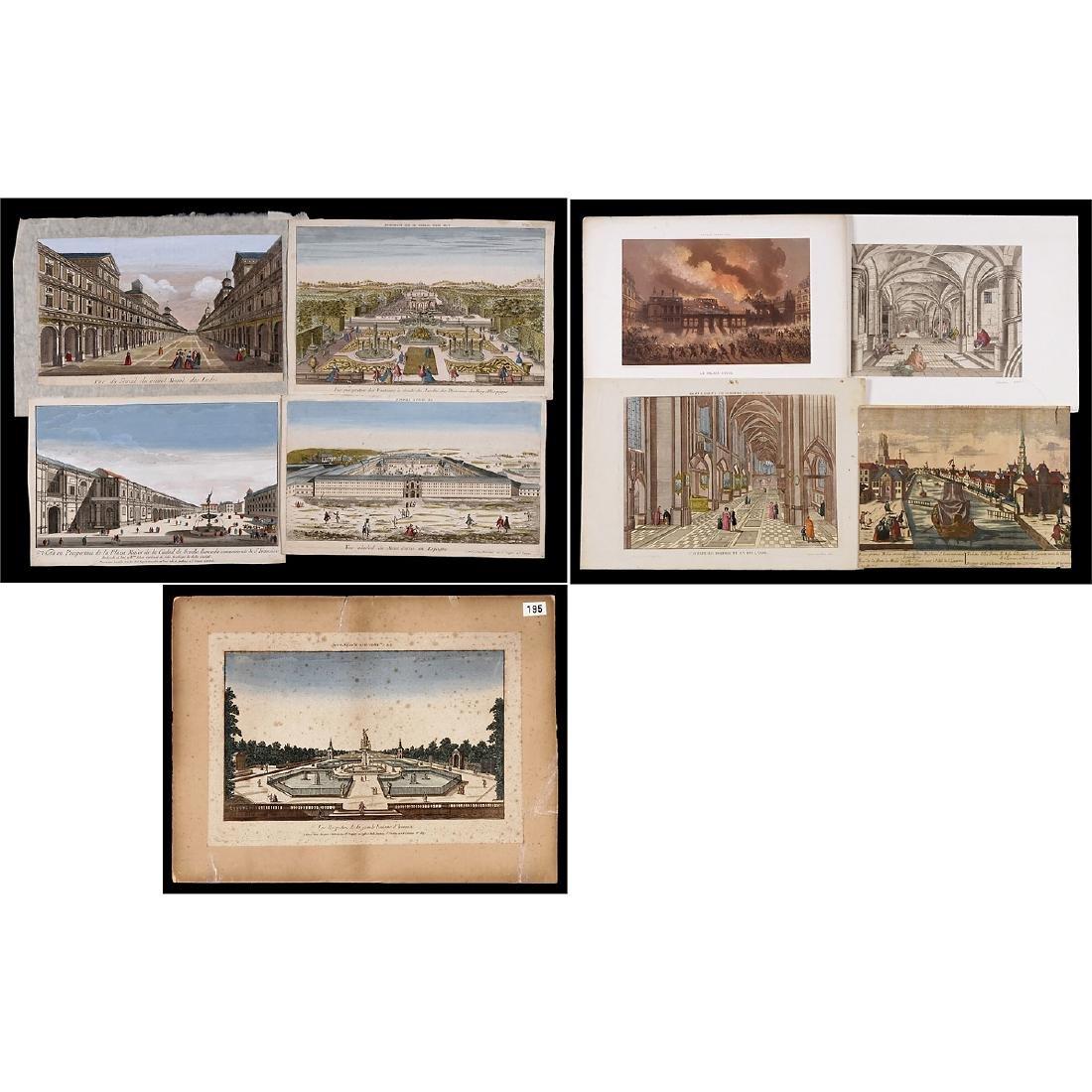 "8 ""Vues d'Optique"", c. 1830-70"