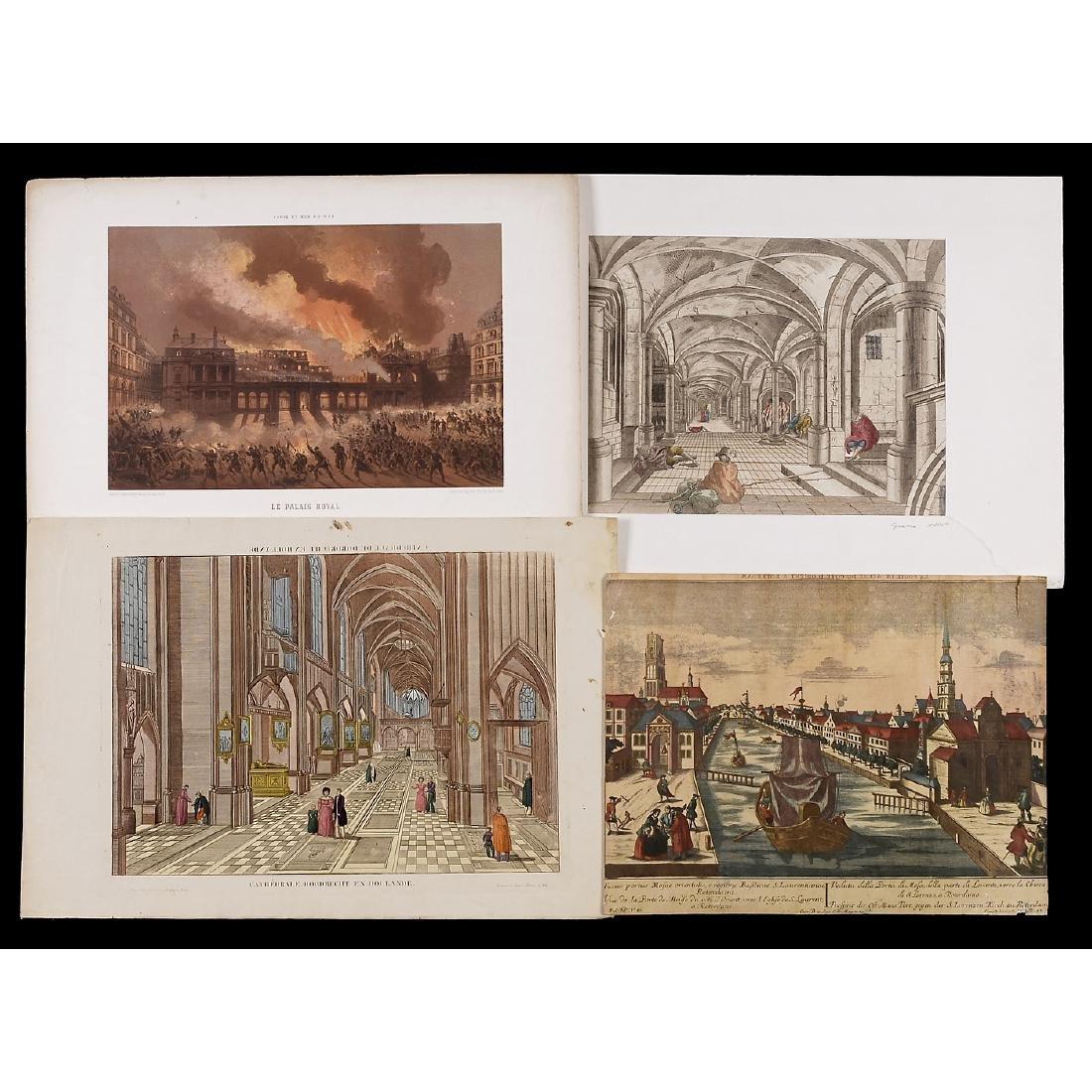 "8 ""Vues d'Optique"", c. 1830-70 - 3"