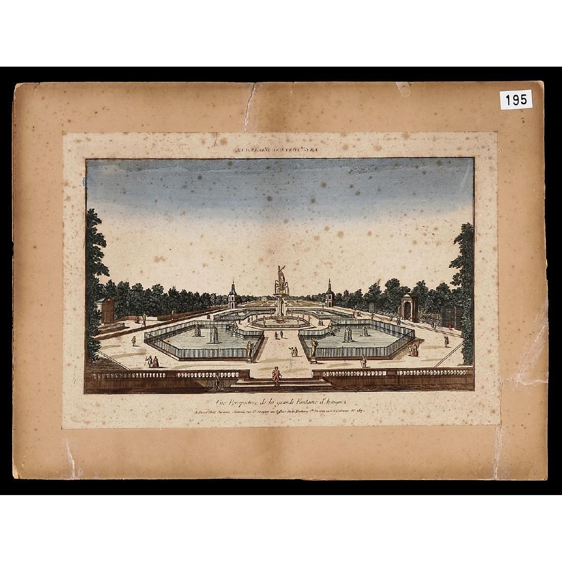 "8 ""Vues d'Optique"", c. 1830-70 - 4"