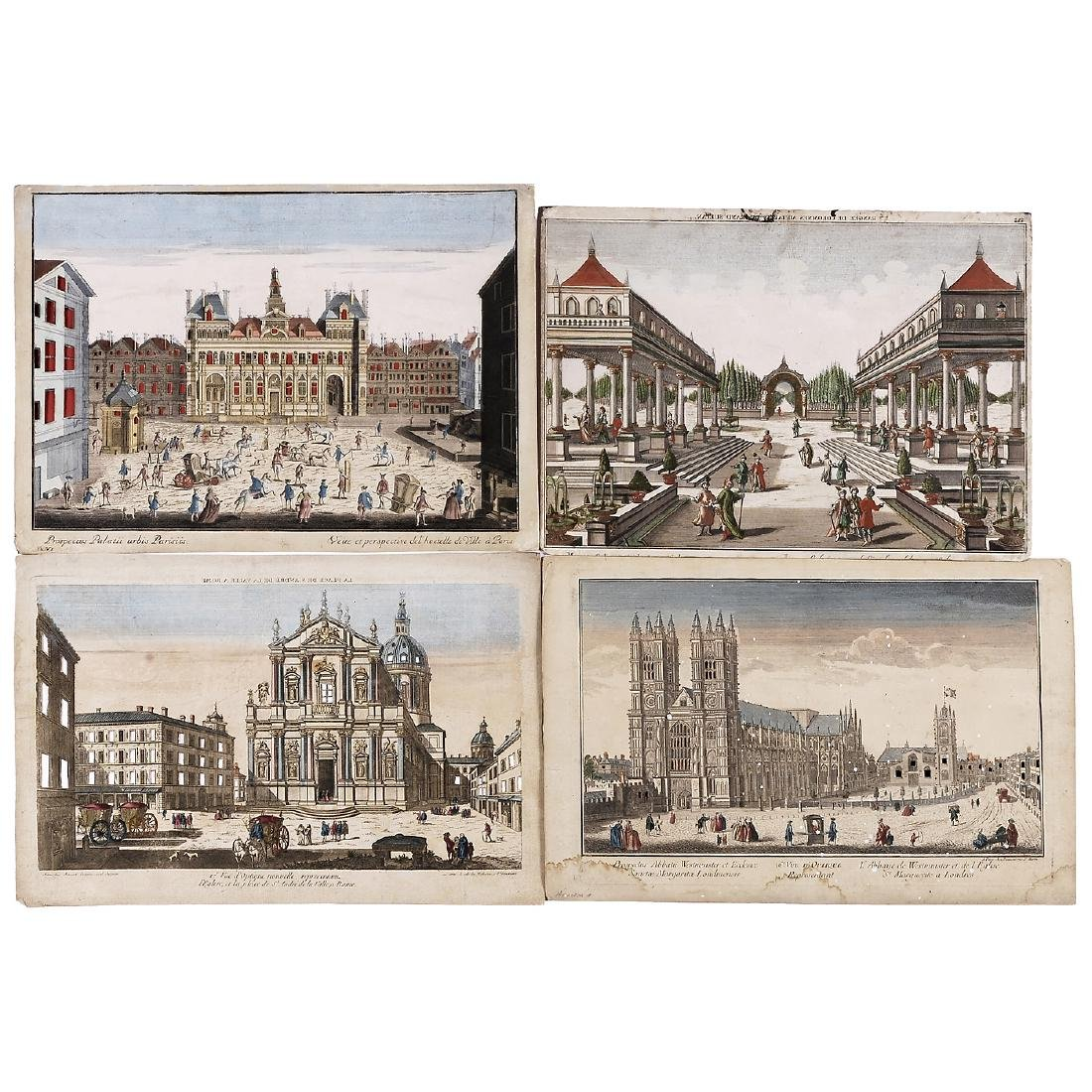 5 Day-and-Night Vues d'Optique, c. 1800-1850 - 2