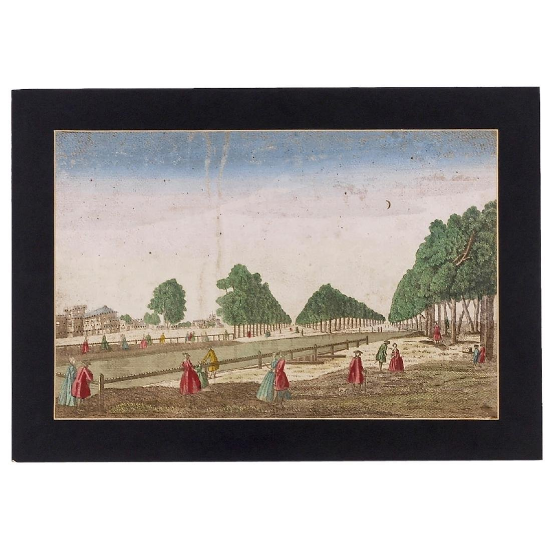 5 Day-and-Night Vues d'Optique, c. 1800-1850 - 3