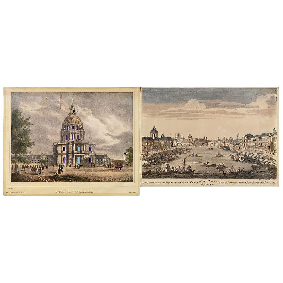 6 Day-and-Night Vues d'Optique, c. 1800-1850 - 3