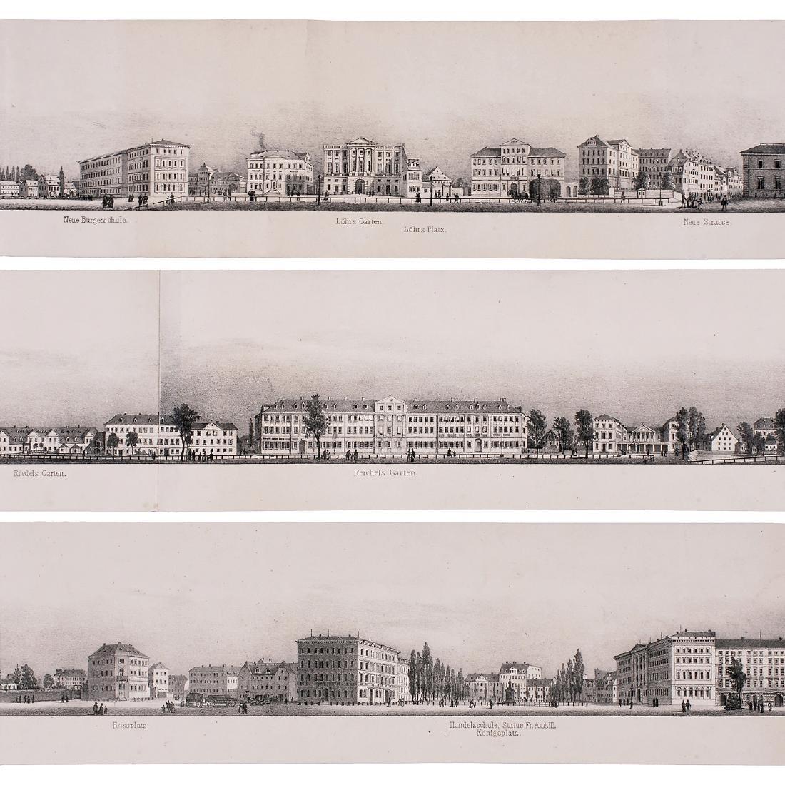 Six-Meter Panorama of Leipzig, c. 1845 - 3