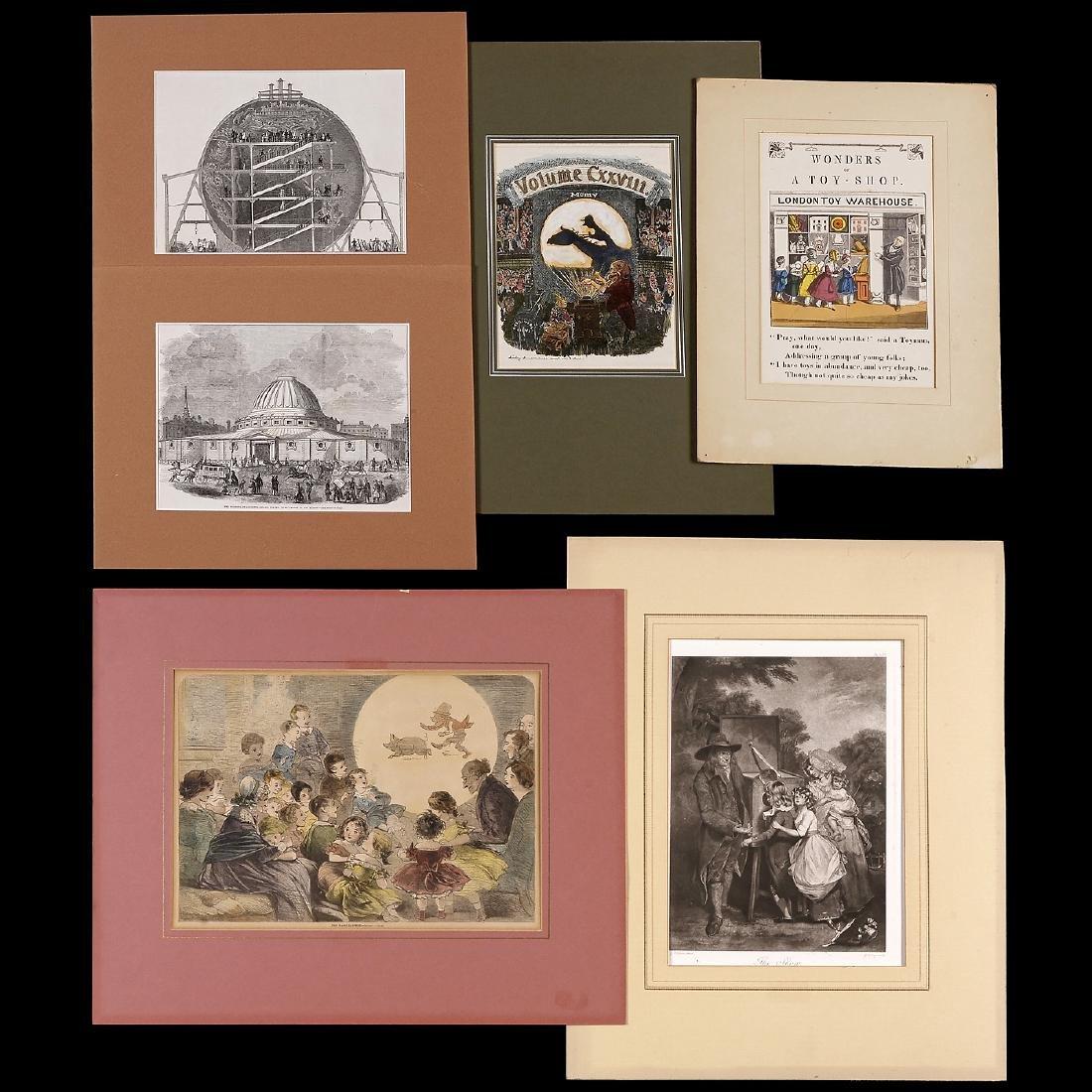 "6 Graphics ""Optical Illusions"", 1851-1905"