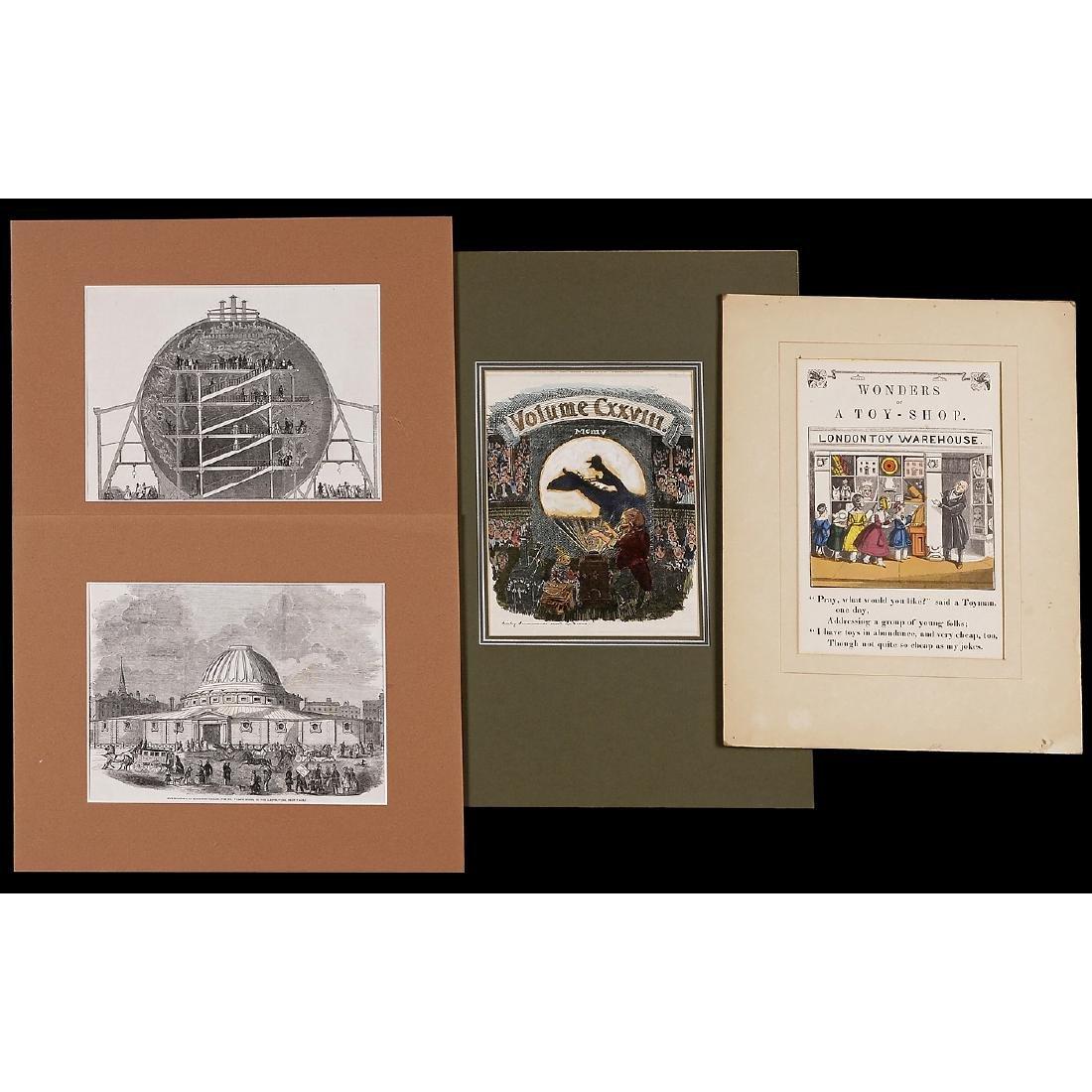 "6 Graphics ""Optical Illusions"", 1851-1905 - 2"