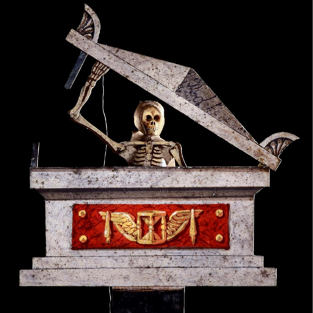 Moisse Molteni Fantascope Skeleton Illusion, c. 1820