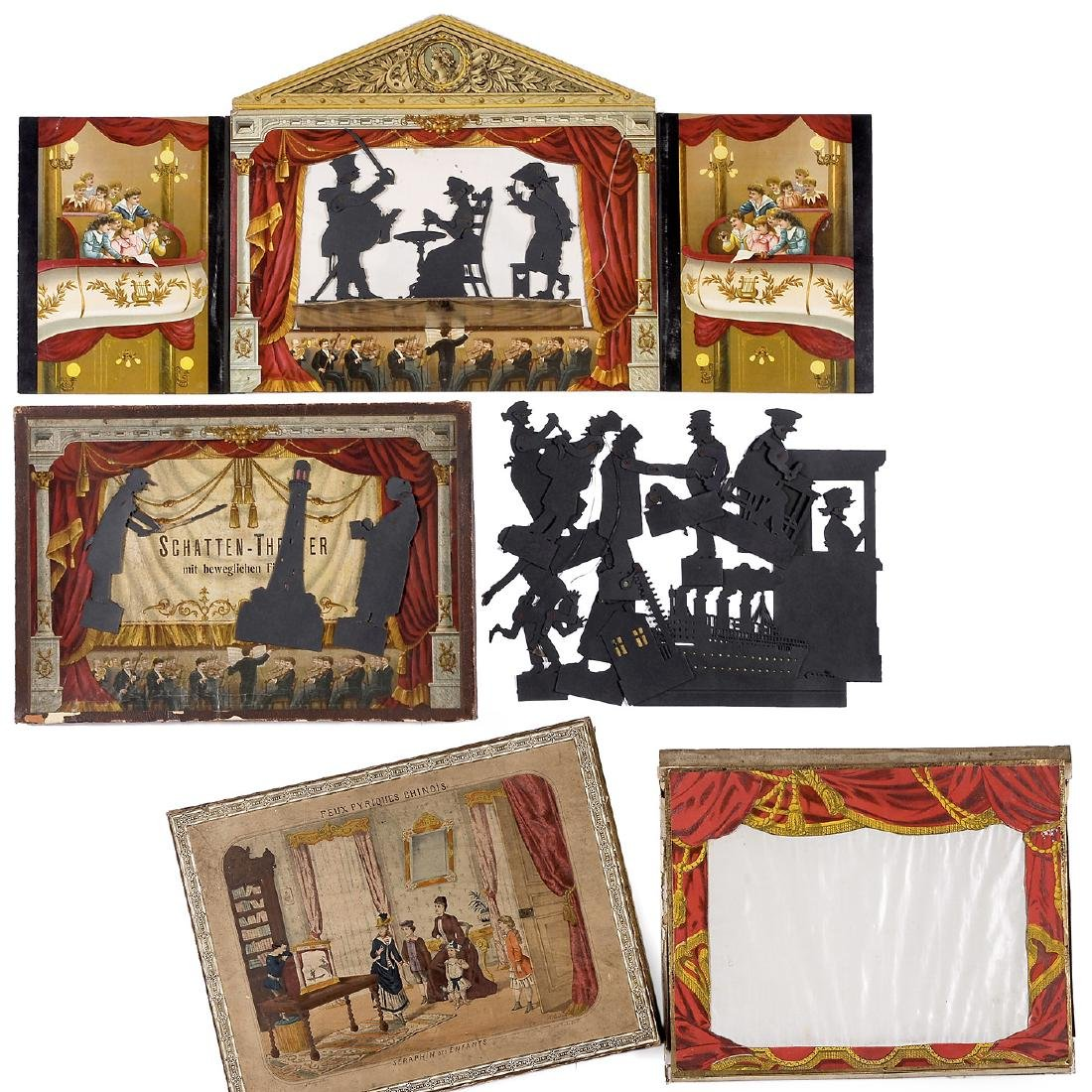 Shadow Theater, 1860-1880