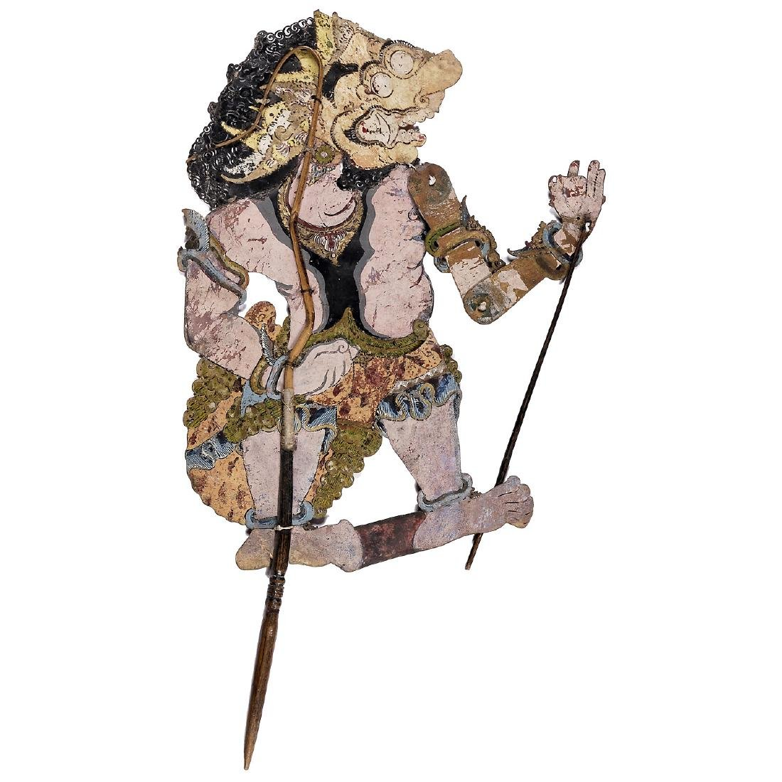 Asian Shadow Stick Puppet, c. 1900