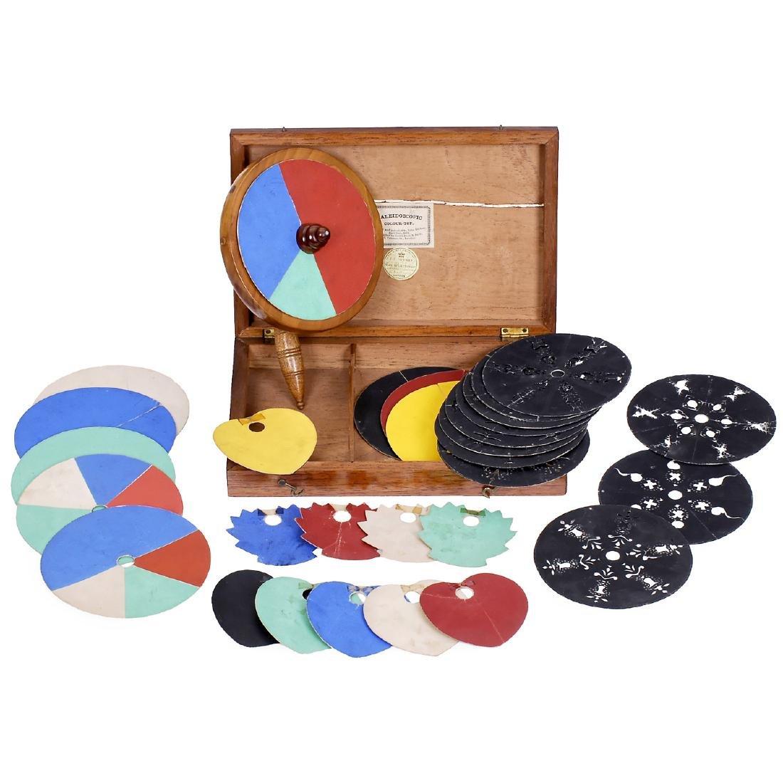 Kaleidoscopic Colour-Top, 1858