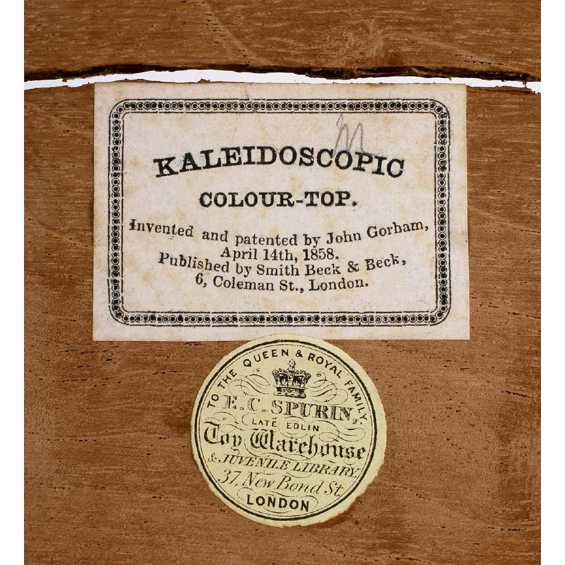 Kaleidoscopic Colour-Top, 1858 - 3