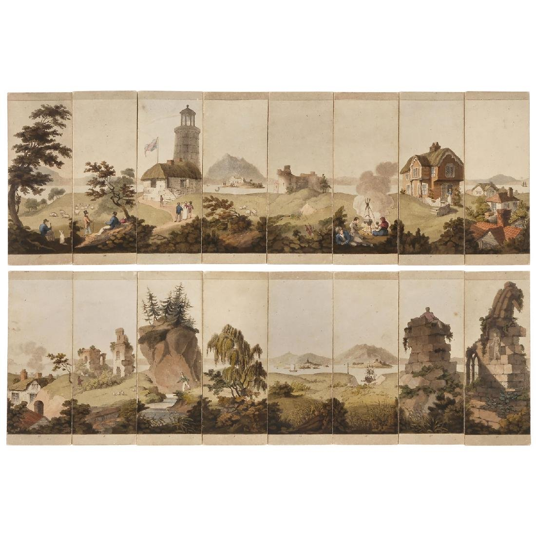 Myriorama Sectional Panorama, c. 1820
