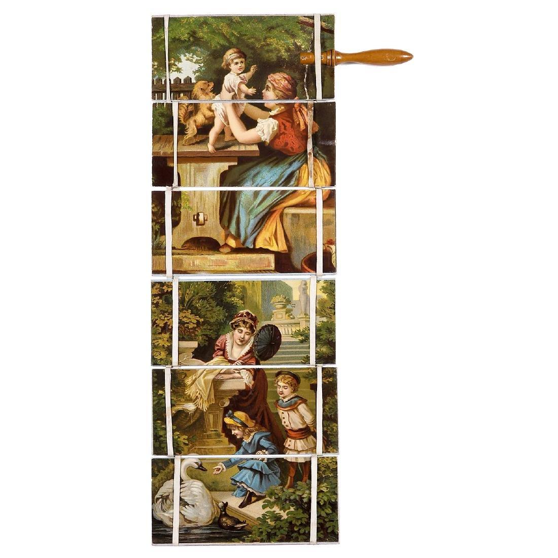 "Transformation Toy ""Jacob's Ladder"", c. 1850-60 - 2"