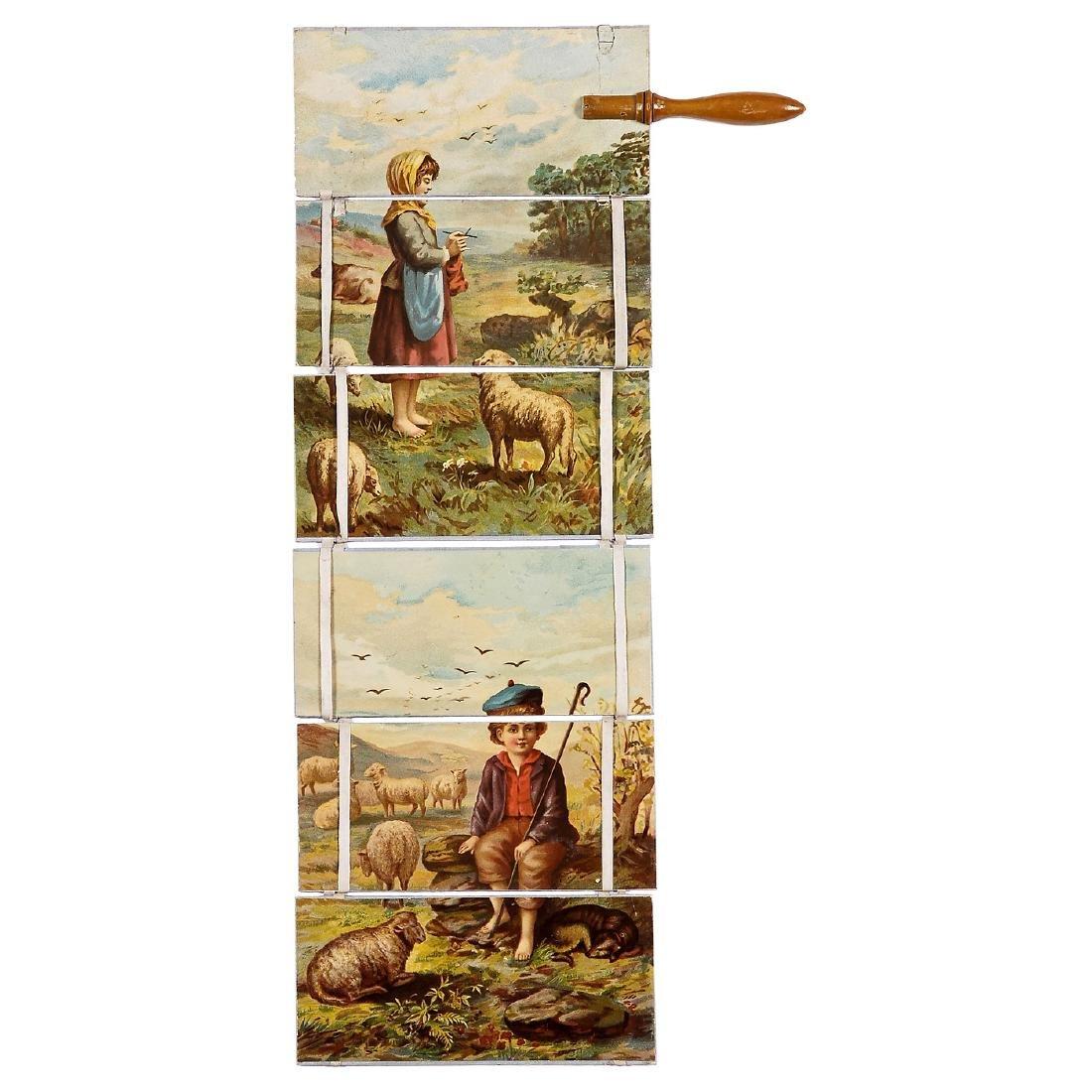 "Transformation Toy ""Jacob's Ladder"", c. 1850-60 - 3"