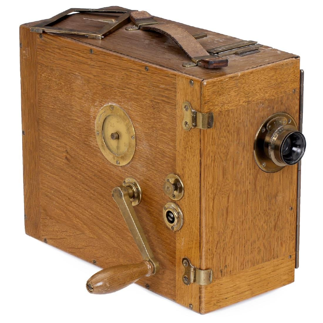 Ernemann CII 35mm Movie Camera, c. 1916