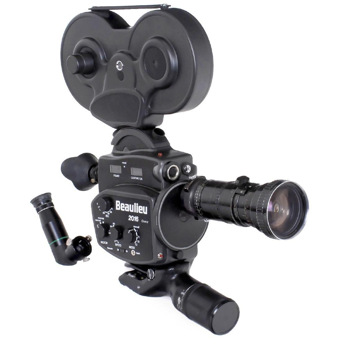 Beaulieu 2016 Quartz 16mm Movie Camera, c. 1986
