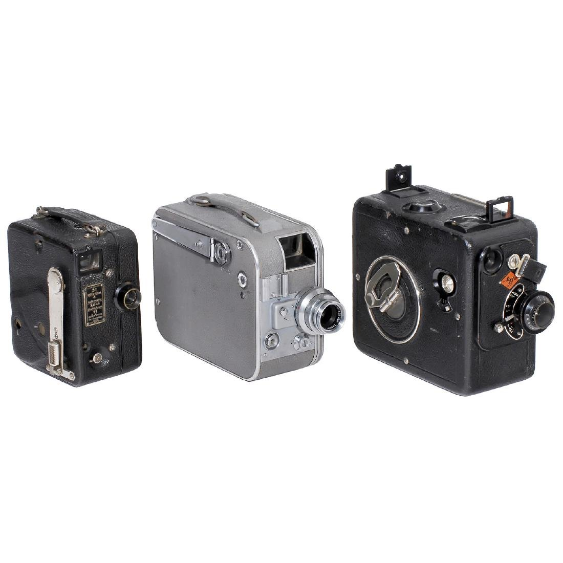 3 Movie Cameras for 16mm Film